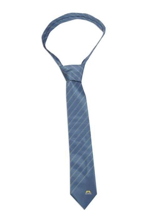 TI155 團體訂購真絲領帶 網上下單領帶款式 印製條紋領帶製造商
