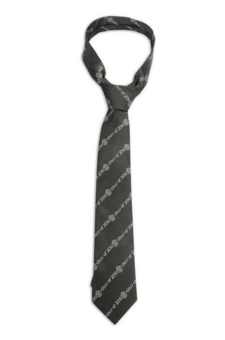TI158 訂製班呔 畢業紀念領帶 提花 織花 領帶生產商