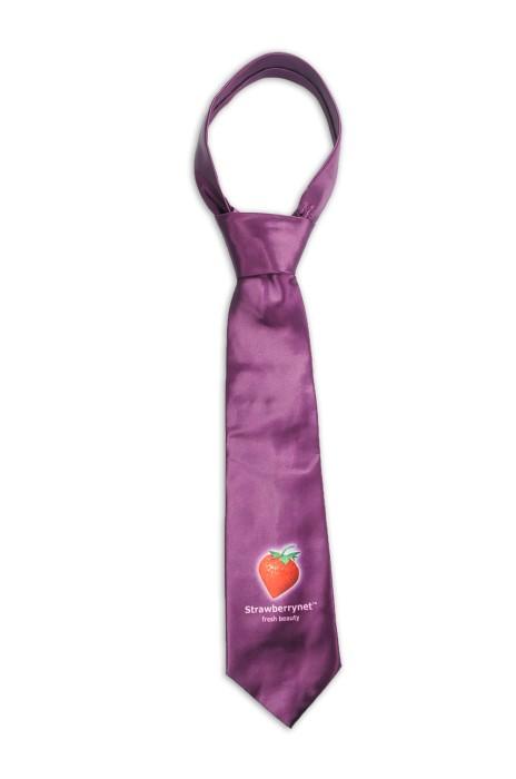 TI165 訂製印花logo領帶 熱昇華 化妝品 護膚 100%滌 領帶生產商