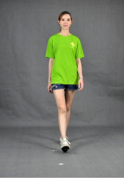 T521 制服團隊TEE  真人試穿 模特示範 禮品店 紀念品T恤  訂造t-shirt  訂做T恤服務中心  設計tee款  T恤製造商HK