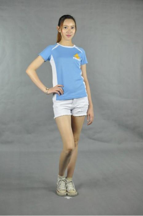 T523  t-shirt專業訂做 真人試穿 模特示範 訂購團體班服 自訂tee款式  訂購t-shirt批發商HK