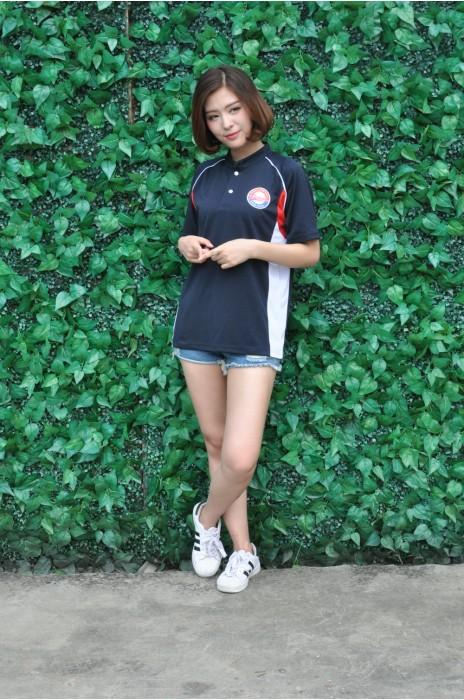 P678 訂購棒球工作服 MODEL  真人模範 設計透氣孔Polo恤 網上下單Polo恤   香港 棒球隊 運動衫 Polo恤製造商