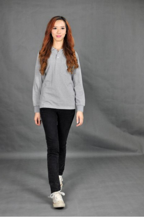 P438 訂造女裝Polo衫  MODEL  真人模範 訂購團體polo shirt  訂造Polo衫珠地布 訂做Polo牌子  Polo衫批發商