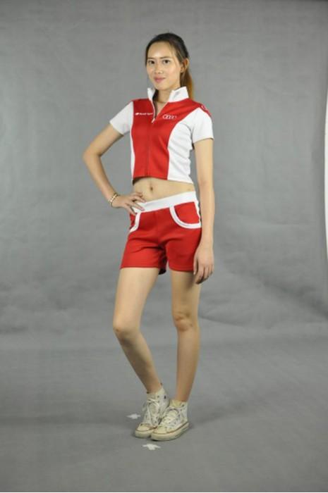 CH108 啦啦隊制服團體訂做 模特展示 真人示範 啦啦隊制服製作 路演服訂做 路演服訂造供應商HK