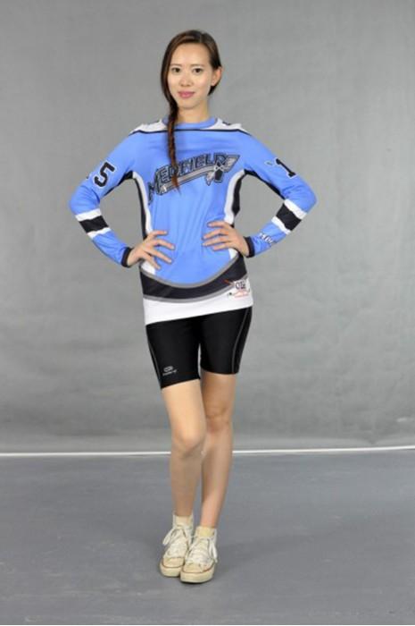 CH121 修腰長款啦啦隊上衣 模特展示 真人示範 來樣訂製 打氣啦啦隊服 啦啦隊服配搭 啦啦隊服香港公司
