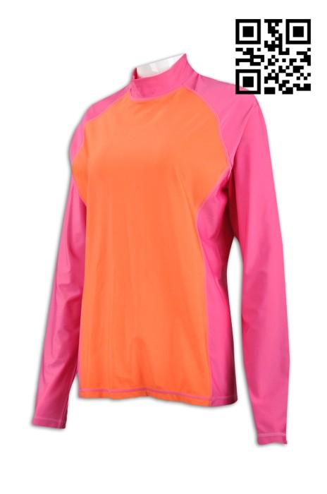 B130 設計量身單車衫款式    訂造拼色單車衫  防晒衣 防曬衫 防UV 衫  滾輪 輪滑 速冰 製作女裝單車衫   單車衫專營