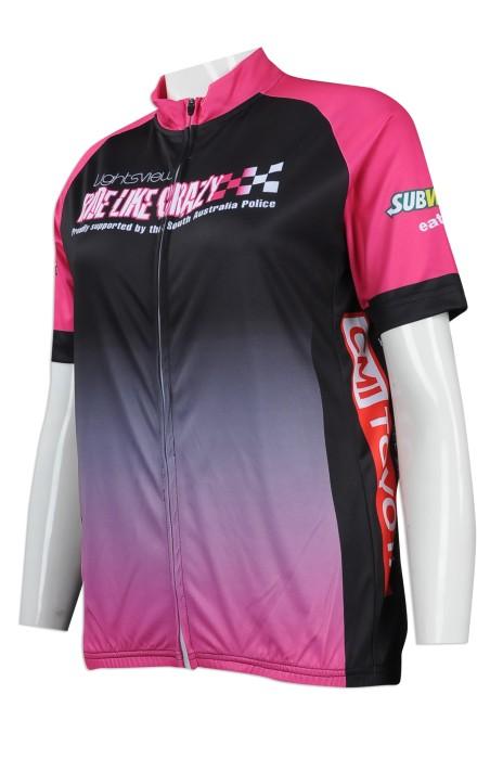 B144 來樣訂做單車衫 網上下單單車衫 澳洲 三項鐵人 鐵3 單車衫供應商