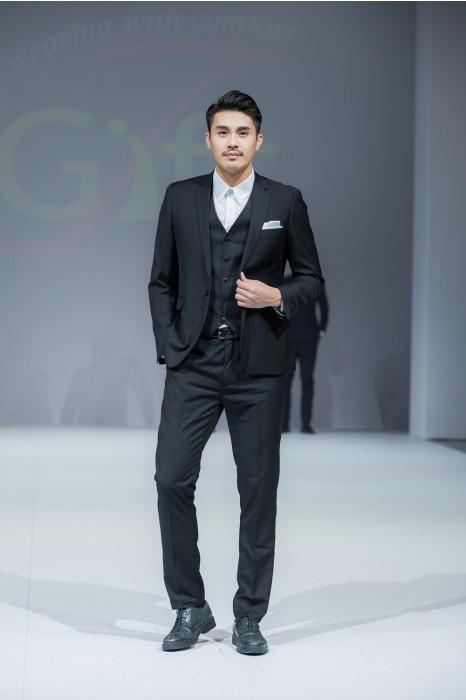 BS363 設計三件套男西裝   模特走秀 真人展示  度身訂造西裝套裝 男西裝製造商