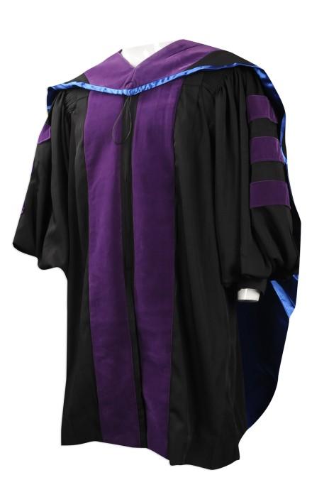 DA023 來樣訂做畢業袍 團體訂購畢業袍 院士袍  主席袍 設計畢業袍供應商