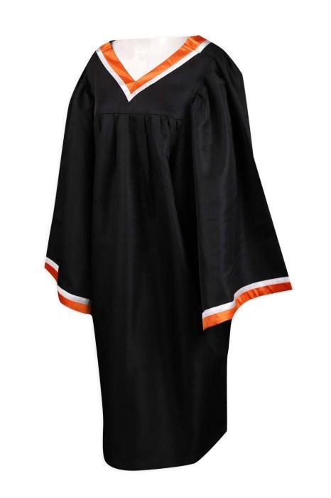 DA116 訂做畢業袍 香港青年協會李兆基書院 制服呢 畢業袍製造商