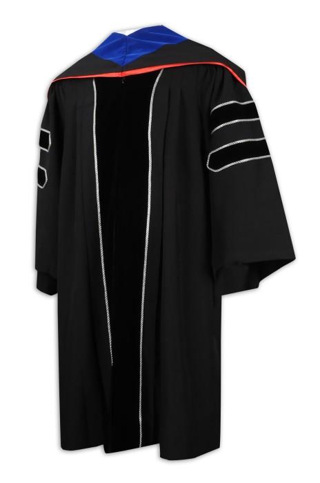 DA118 訂製大學畢業袍 博士袍 碩士袍 生產商