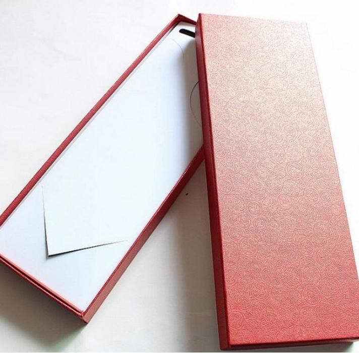 TIE BOX025 訂購領帶包裝盒 設計時尚純色領帶盒 網上下單領帶盒 領帶盒製造商