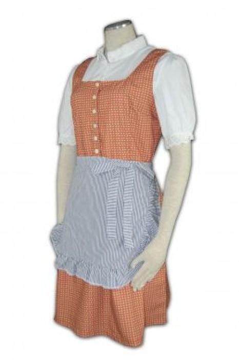 CL012 家政服訂做 家政服中心 清潔 保健 接待制服  家政服製作