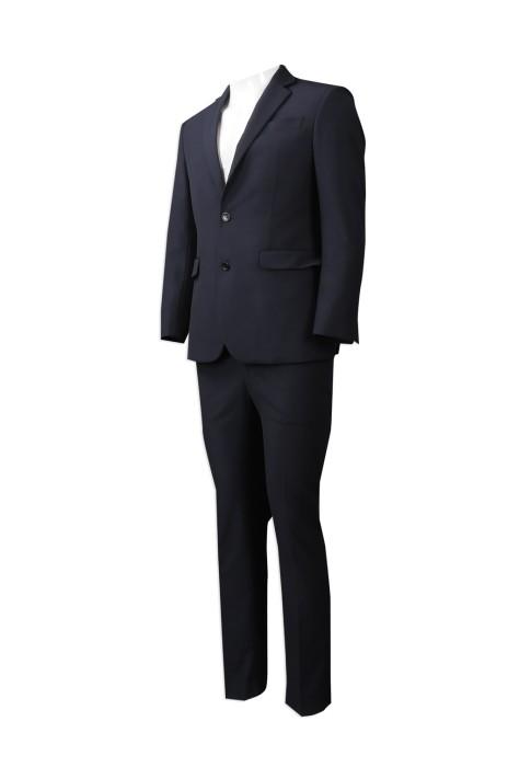 BS354 度身訂做西裝套裝 專業設計修身版西裝套裝 澳門  英皇娛樂酒店 樓面西裝 西裝套裝制服店