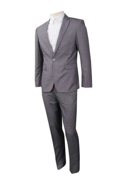 BS364 製作修身版西裝套裝款式 訂做西裝套裝款式 西裝套裝製造商