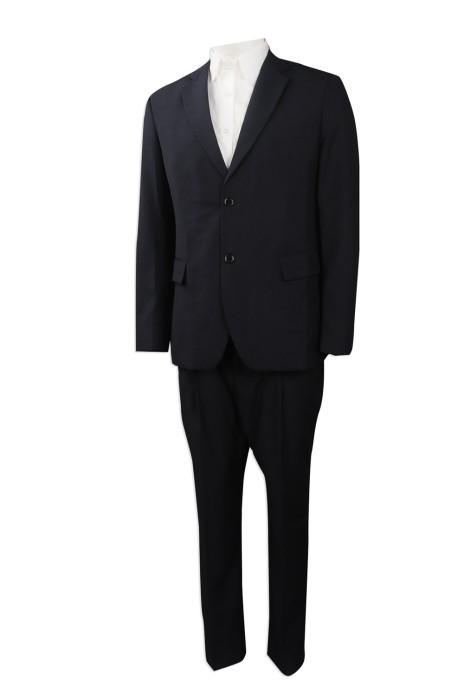 BS366 度身訂造男款西裝套裝  網上下單男西裝套裝 澳門 印務局 設計修身男西裝 西裝製造商
