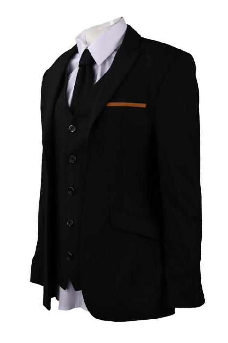 BS367 訂做男裝西裝外套 澳門酒店 大堂經理 65%滌 35%人造絲 西裝供應商