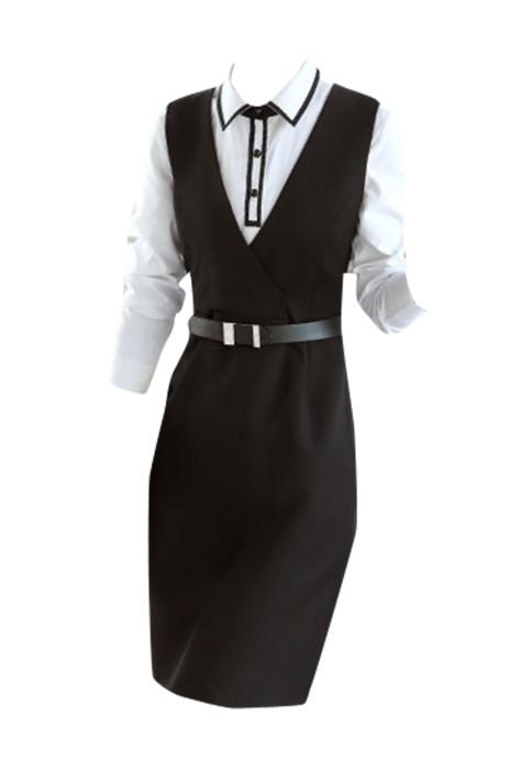 SKCS002  訂購職業裝女裝套裝  西服正裝工作服  OL西裝套裝商務修身連衣裙