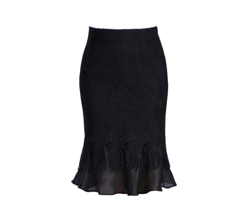 SKCS015 自製職業魚尾裙  修身  包臀裙   魚尾裙生產商