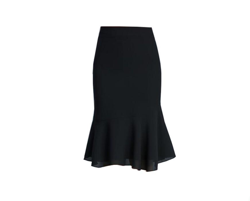 SKCS017 設計高腰魚尾裙  包臀裙  魚尾裙廠房