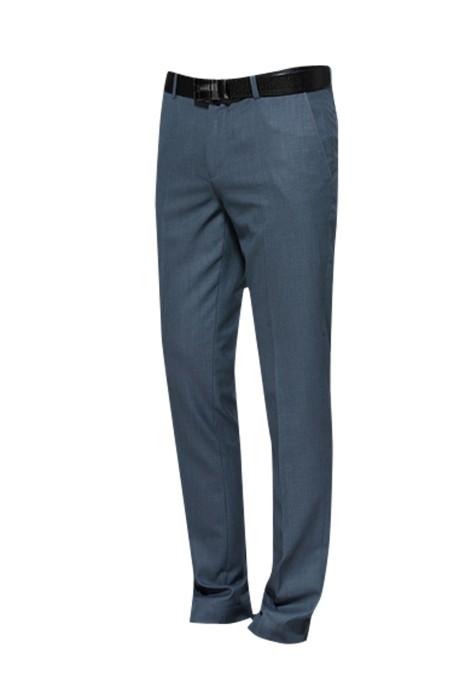 MT014 夏季薄款男士西裝褲  設計窄腳修身型休閒西褲 灰色青年上班男褲  男西褲製造商  時尚修身 緊身剪裁款