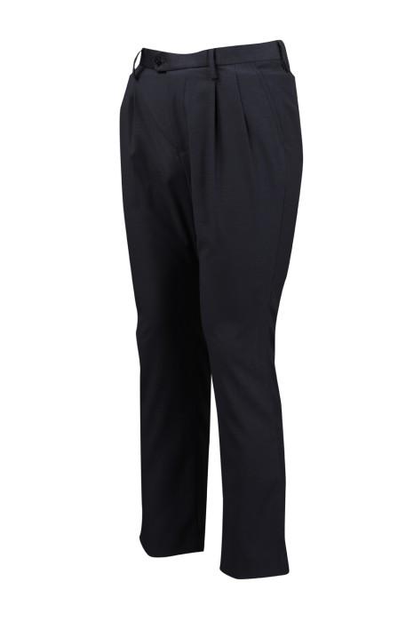 MT017 供應男裝正裝西裝褲  來樣訂做男西褲 男西褲hk中心