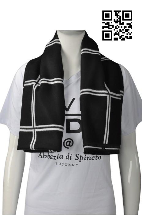 Scarf044 訂造格仔款圍巾  定購女款加大披巾 網上下單圍巾 圍巾hk中心