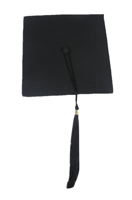 GGC011 製作畢業帽 自訂大學黑色畢業帽 院士帽 設計畢業帽供應商