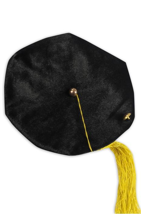 GGC017 訂製博士畢業帽 六角帽 絲絨帽 畢業帽生產商