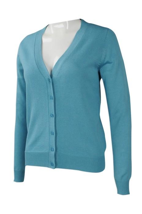 CAR030 來樣訂做針織冷外套 訂造開衫冷外套 絲光棉 香港電訊行業 秋冬外套 開衫冷外套專營店
