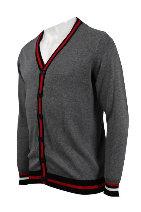 CAR035 訂製淨色男裝冷外套 2/32支棉 328G 冷外套供應商