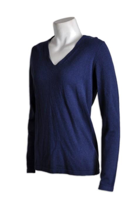 JUM028專業訂製套頭毛衫  訂購學毛衫  訂做團體V领毛衫  毛衫供應商HK