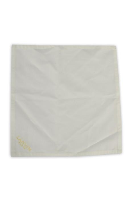A197 製作繡花小方巾餐巾 自訂餐巾款式 餐巾專門店
