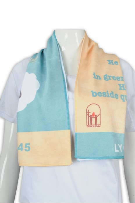 A199 訂做撞色毛巾 印花logo毛巾 運動毛巾 毛巾供應商