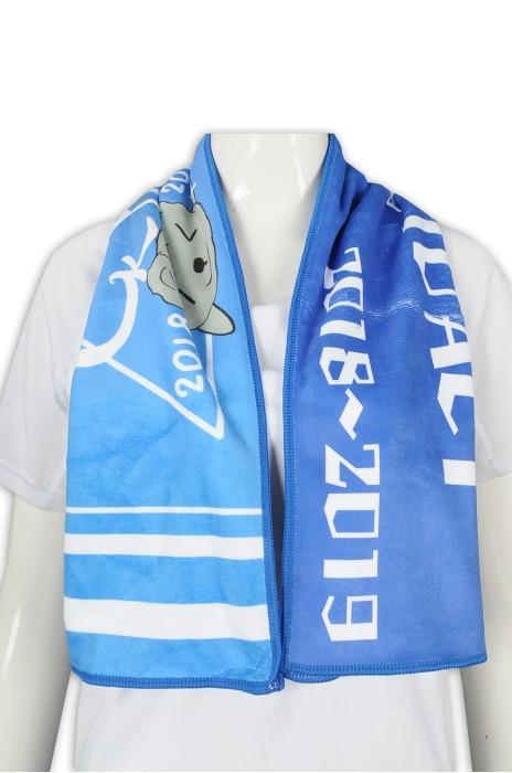 A208 設計運動毛巾 班巾 超細纖維 100%滌錦 毛巾供應商