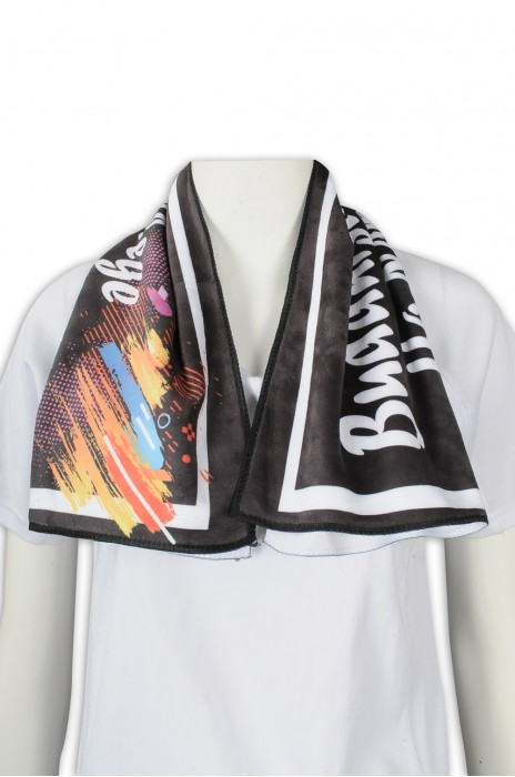 A215 訂製活動毛巾  彩印紀念 毛巾 100%滌 毛巾生產商