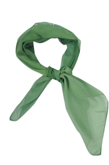 SF027 印製絲巾款式 製作LOGO真絲絲巾 超薄 數碼印 訂造絲巾生產商