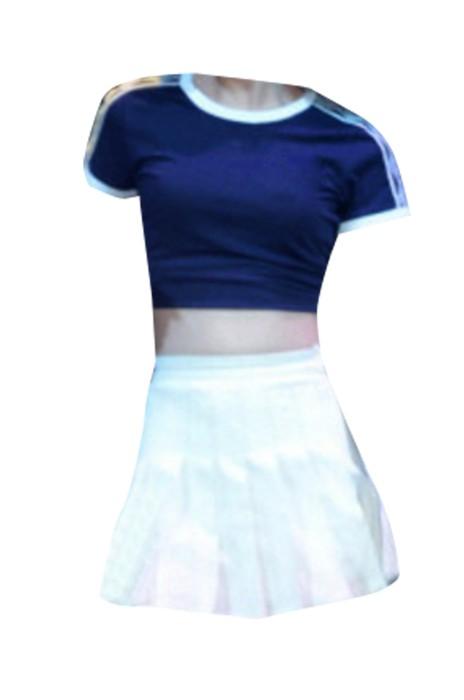 SKCU023 供應啦啦隊表演服 健美操服 網上下單啦啦隊套裝 啦啦隊服專門店