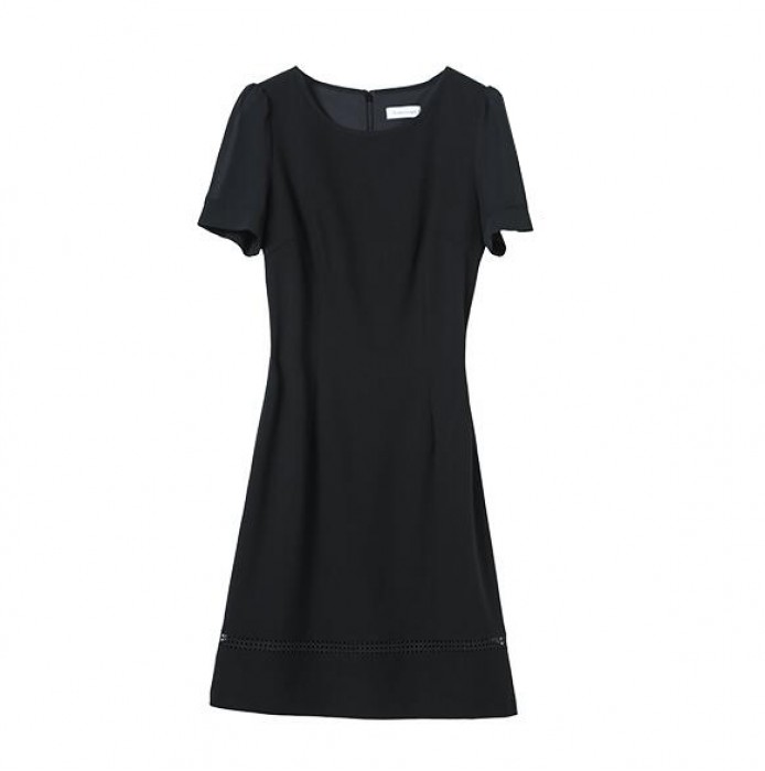 SKPD002 訂造修身職業連身裙款式   製作A字裙職業連身裙款式   A字裙   自訂短袖職業連身裙款式   職業連身裙專營