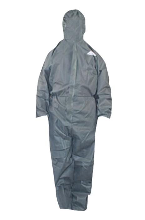 SKWK017  無紡布防塵服 防護連體服 帶帽防化透氣勞保服 一次性工作服噴漆防靜電工作服