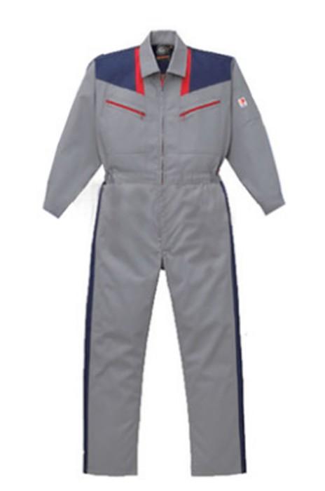 SKWK032 長袖連體服 防靜電防酸堿抗油連身服