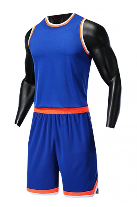 SKWTV043 設計籃球衫套裝 運動比賽訓練衫 波衫供應商