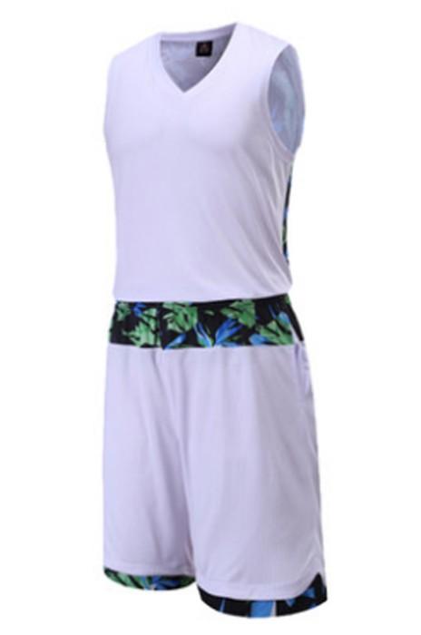 SKWTV048 製作圖案花紋籃球衫 吸濕排汗 波衫專門店