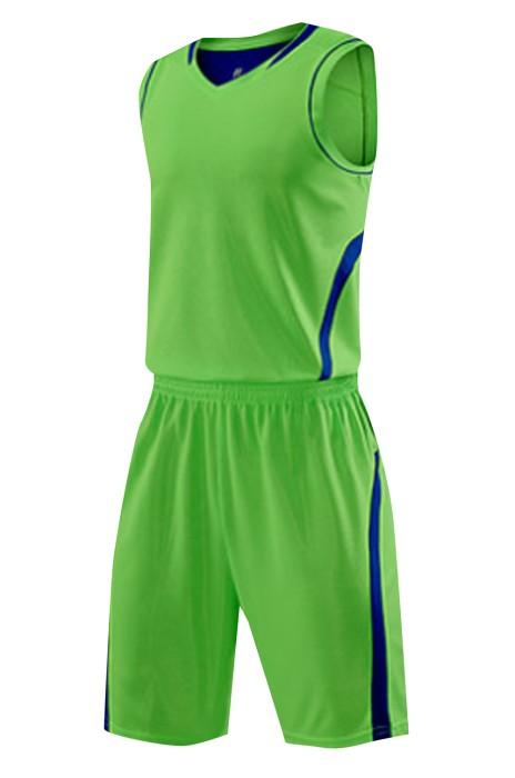 SKWTV049 設計背心籃球衫套裝 比賽訓練隊衫 波衫製造商