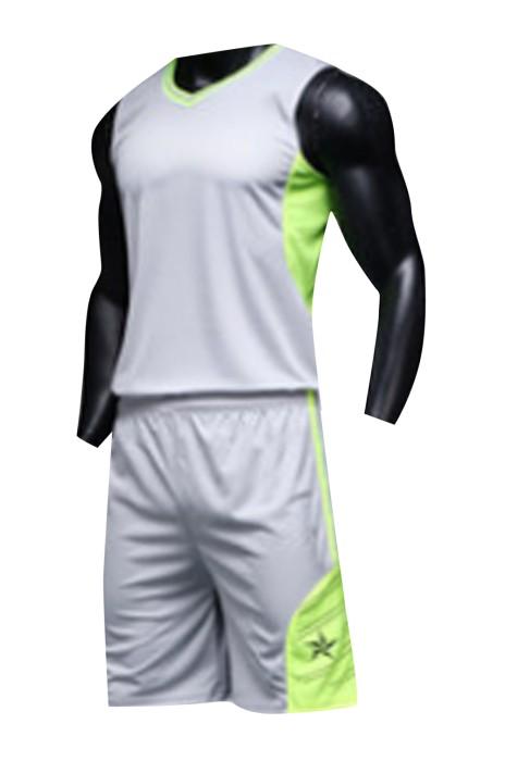 SKWTV056 製作籃球衫套裝 吸濕排汗 波衫供應商