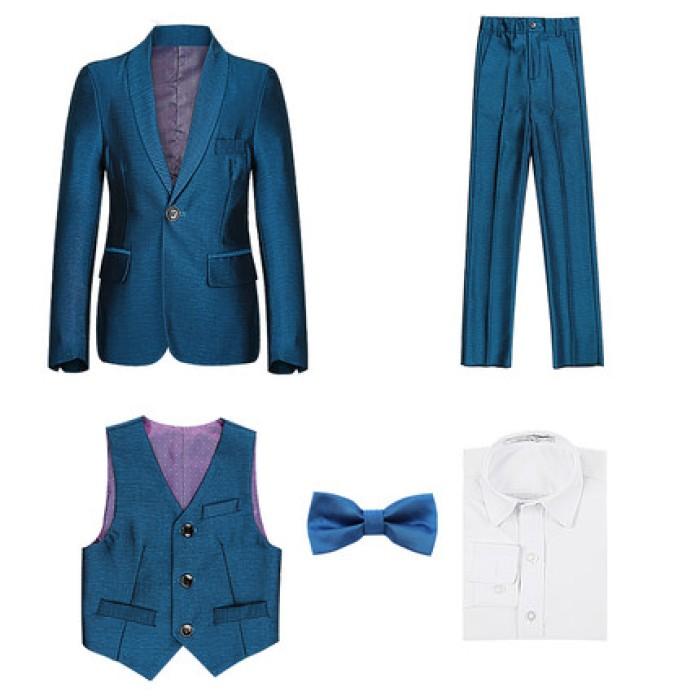 SKCST002 製造男裝兒童西裝款式  花仔 花仔衫  三件套 面試西裝  兒童西裝專營