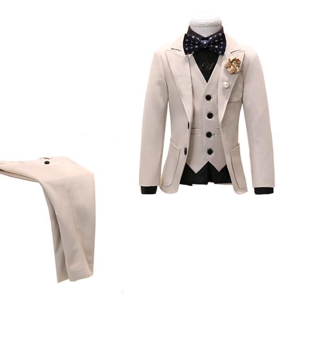 SKCST021 自製禮服兒童西裝款式  花童禮服  表演服 花仔衫 兒童西裝專門店