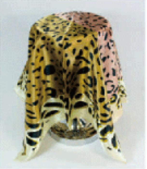 SKN02 訂做韓版高级時尚小方巾 絲巾 女百搭裝飾用圍巾 領巾 領巾供應商