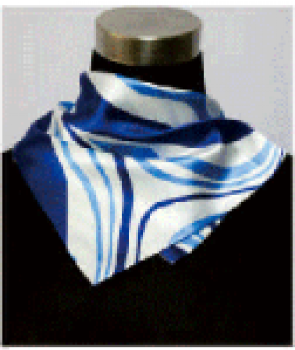 SKN07 設計時尚百變絲巾 韓國百搭文藝領巾 銀行工作服職業絲巾 裝飾領巾 小方巾 領巾製造商