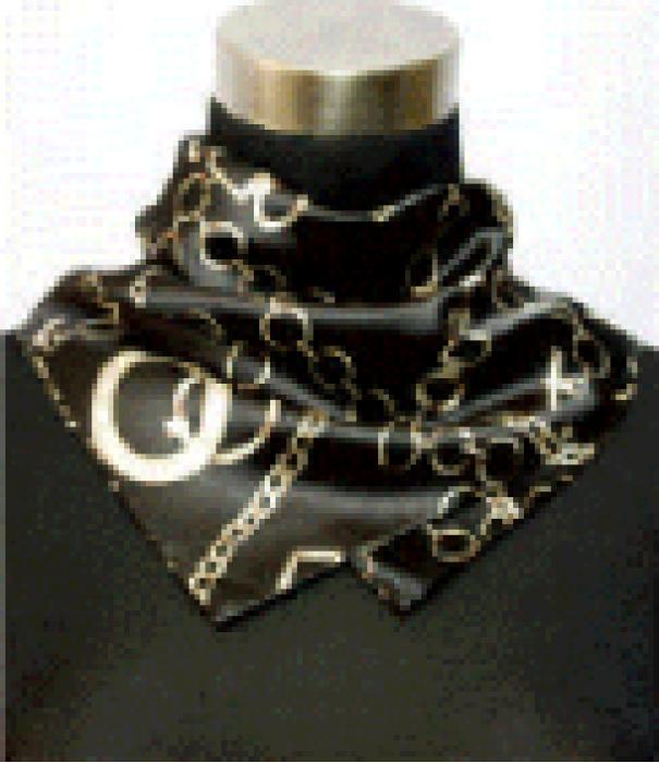SKN08 製作小方巾印花絲巾 時尚百變絲巾 銀行工作服職業絲巾 裝飾領巾 小方巾 領巾製造商